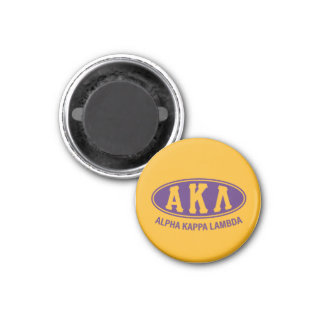 Alpha Kappa Lambda | Vintage Magnet
