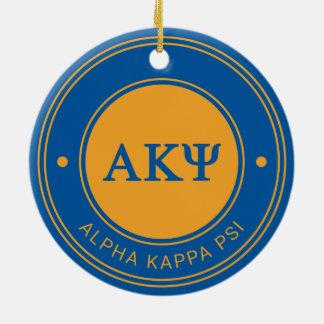 Alpha Kappa Psi | Badge Christmas Ornament