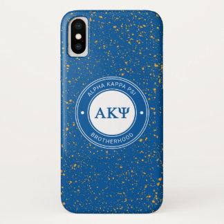 Alpha Kappa Psi | Badge iPhone X Case