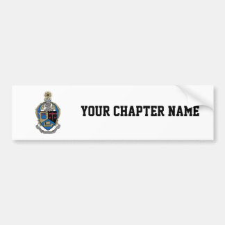 Alpha Kappa Psi - Coat of Arms Bumper Sticker