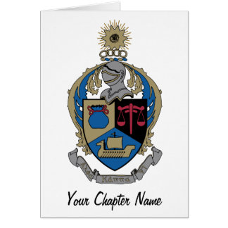 Alpha Kappa Psi - Coat of Arms Card