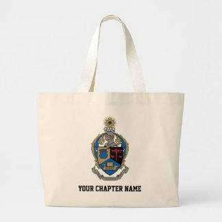 Alpha Kappa Psi - Coat of Arms Large Tote Bag