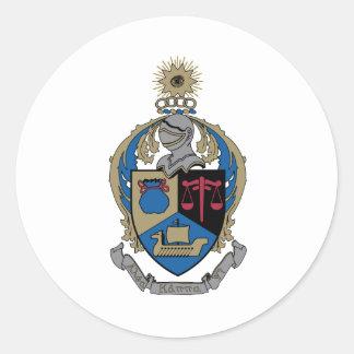 Alpha Kappa Psi - Coat of Arms Round Sticker
