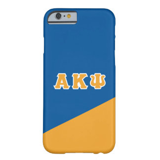 Alpha Kappa Psi | Greek Letters Barely There iPhone 6 Case
