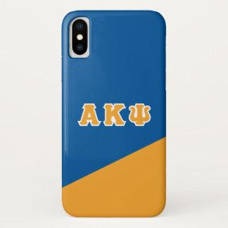 Alpha Kappa Psi | Greek Letters iPhone X Case