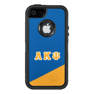 Alpha Kappa Psi | Greek Letters OtterBox Defender iPhone Case