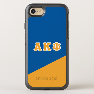 Alpha Kappa Psi | Greek Letters OtterBox Symmetry iPhone 8/7 Case