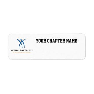 Alpha Kappa Psi Name and Logo