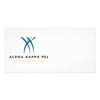 Alpha Kappa Psi Name and Logo Card