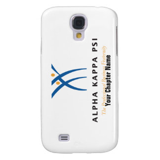 Alpha Kappa Psi Name and Logo Galaxy S4 Case