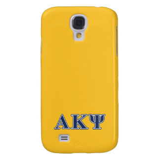 Alpha Kappa Psi Navy Letters Galaxy S4 Case