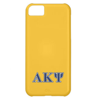 Alpha Kappa Psi Navy Letters iPhone 5C Case