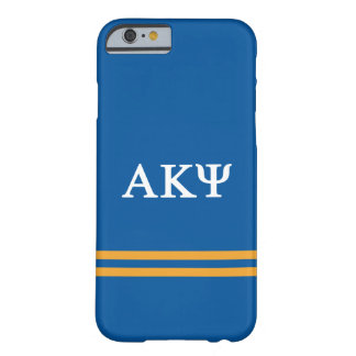 Alpha Kappa Psi | Sport Stripe Barely There iPhone 6 Case