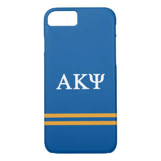 Alpha Kappa Psi | Sport Stripe iPhone 8/7 Case