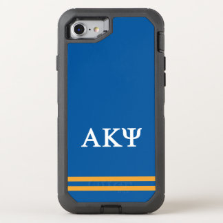 Alpha Kappa Psi | Sport Stripe OtterBox Defender iPhone 8/7 Case