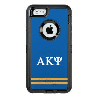 Alpha Kappa Psi | Sport Stripe OtterBox Defender iPhone Case