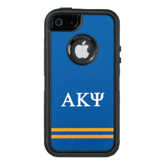 Alpha Kappa Psi | Sport Stripe OtterBox Defender iPhone Case