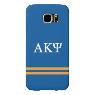Alpha Kappa Psi | Sport Stripe Samsung Galaxy S6 Cases