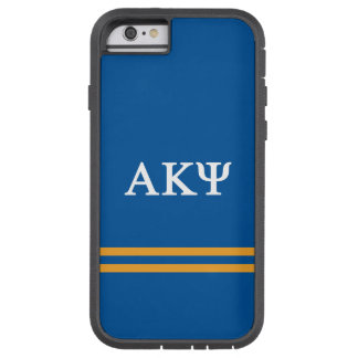 Alpha Kappa Psi | Sport Stripe Tough Xtreme iPhone 6 Case