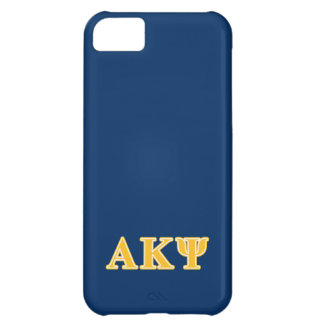 Alpha Kappa Psi Yellow Letters iPhone 5C Case