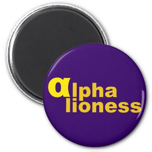 alpha lioness magnets