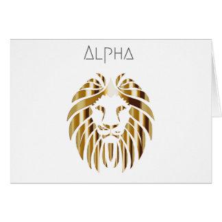 Alpha Male Card
