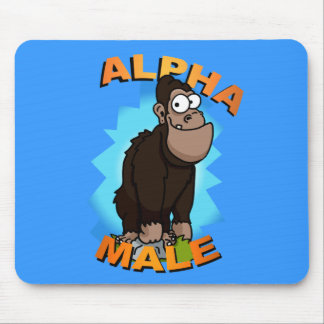 Alpha Male Mouse Pad