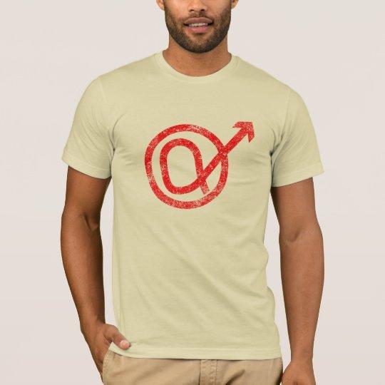 Alpha Male Sign T-Shirt