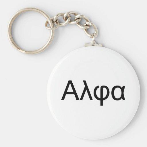 Alpha Male Super Geek physics Basic Round Button Key Ring