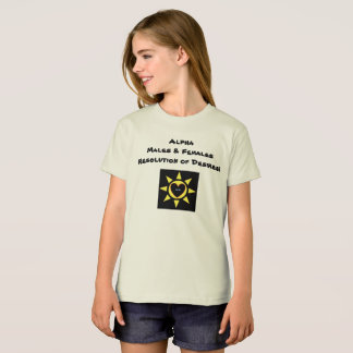 Alpha Males & Female Resolution of Desires p132 T-Shirt