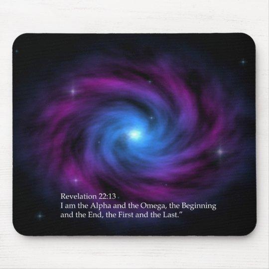 Alpha & Omega Mouse Pad