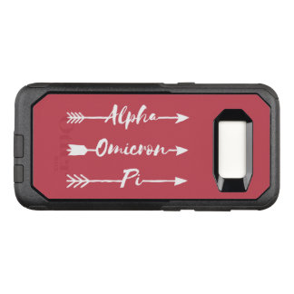 Alpha Omicron Pi Arrow OtterBox Commuter Samsung Galaxy S8 Case