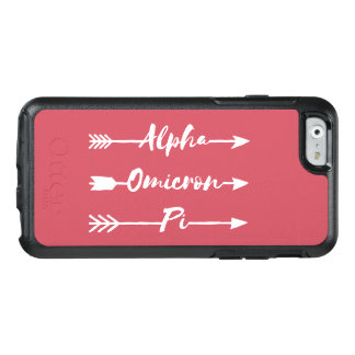 Alpha Omicron Pi Arrow OtterBox iPhone 6/6s Case