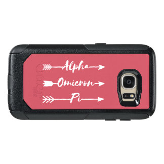 Alpha Omicron Pi Arrow OtterBox Samsung Galaxy S7 Case