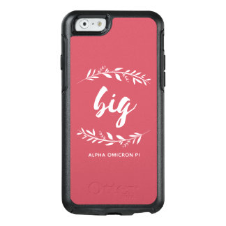 Alpha Omicron Pi Big Wreath OtterBox iPhone 6/6s Case