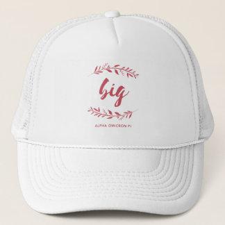 Alpha Omicron Pi Big Wreath Trucker Hat