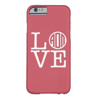 Alpha Omicron Pi Love Barely There iPhone 6 Case