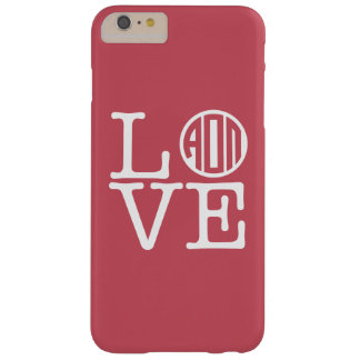 Alpha Omicron Pi Love Barely There iPhone 6 Plus Case