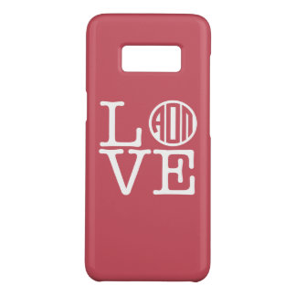 Alpha Omicron Pi Love Case-Mate Samsung Galaxy S8 Case
