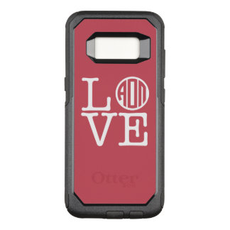 Alpha Omicron Pi Love OtterBox Commuter Samsung Galaxy S8 Case