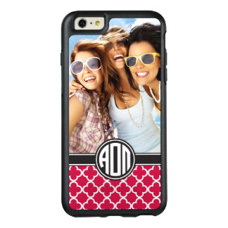 Alpha Omicron Pi | Monogram and Photo OtterBox iPhone 6/6s Plus Case