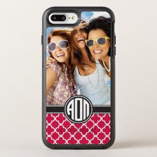 Alpha Omicron Pi | Monogram and Photo OtterBox Symmetry iPhone 7 Plus Case