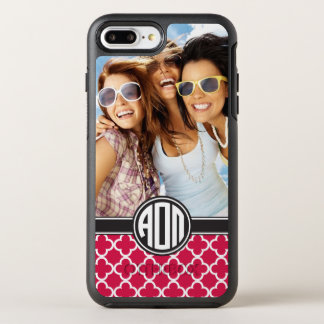 Alpha Omicron Pi | Monogram and Photo OtterBox Symmetry iPhone 8 Plus/7 Plus Case