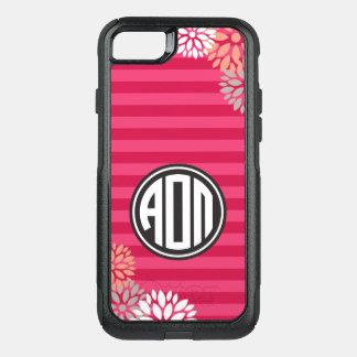 Alpha Omicron Pi | Monogram Stripe Pattern OtterBox Commuter iPhone 8/7 Case