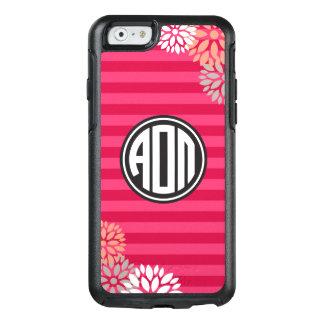 Alpha Omicron Pi | Monogram Stripe Pattern OtterBox iPhone 6/6s Case