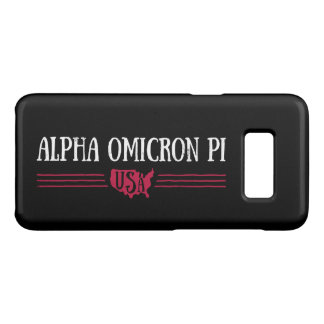 Alpha Omicron Pi USA Case-Mate Samsung Galaxy S8 Case