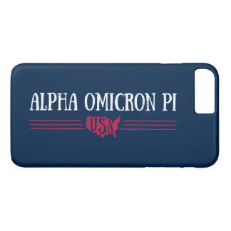 Alpha Omicron Pi USA iPhone 8 Plus/7 Plus Case