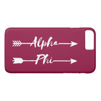 Alpha Phi | Arrows iPhone 8 Plus/7 Plus Case