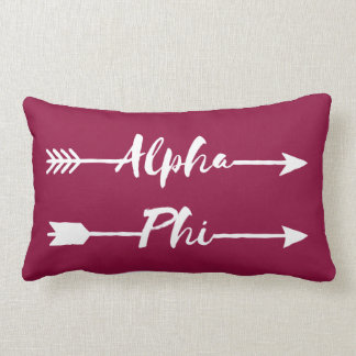 Alpha Phi | Arrows Lumbar Cushion