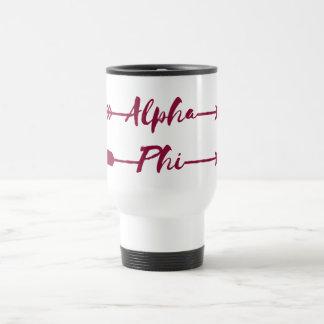 Alpha Phi | Arrows Travel Mug